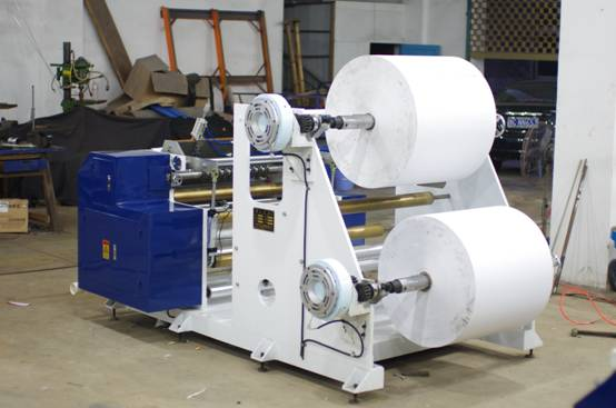 Automatic Two Ply Thermal Paper Slitting Machine with PLC control