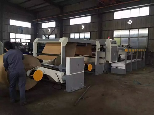 NEW TYPE AUTOMATIC ROTARY ROLL SHEET CUTTING MACHINE