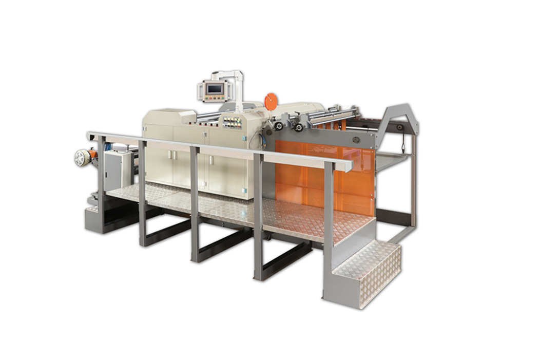 AUTOMATIC ROLL TO SHEET CUTTING MACHINE FOR FOOD PACKAGE PAPER DFJ800-1600K
